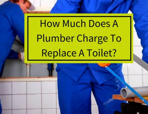 how much does a plumber charge to replace a toilet?